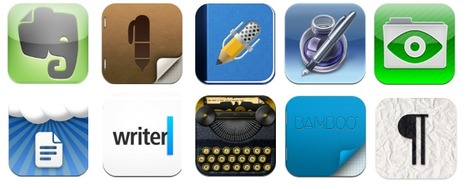 Teaching with Apps: Top 10 Writing Apps For the iPad | ELLs and Instructional Strategies | Scoop.it