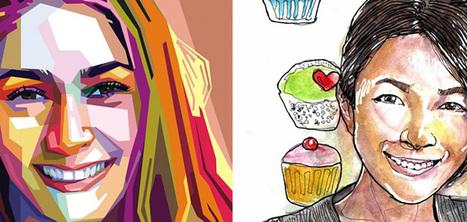 Une application smartphone pour recevoir son portrait sous forme de caricature | INFORMATIQUE 2015 | Scoop.it