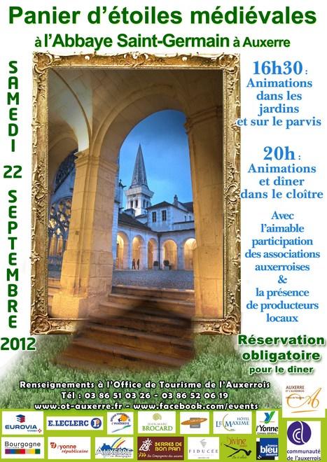 Fantastic Picnic « Panier d'étoiles médiévales » à l'Abbaye Saint-Germain d'Auxerre | Revue de Web par ClC | Scoop.it