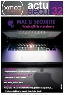 XMCO - ActuSécu - Mac et Sécurité | Apple, Mac, iOS4, iPad, iPhone and (in)security... | Scoop.it