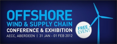 Offshore Wind & Supply Chain Conference & Exhibition 2012 | Energy and Sustainability | Scoop.it