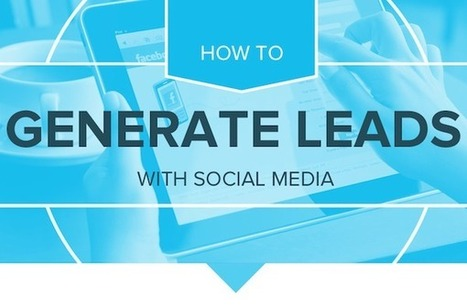 How To Generate Leads With Social Media [INFOGRAPHIC] - AllTwitter | Social media marketing | Scoop.it