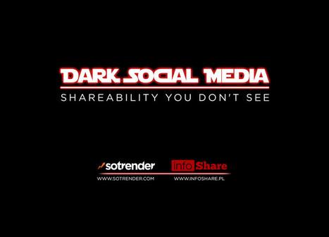 Dark Social Media, shareability You don't see - a report by Sotrender   Tout sur les réseaux sociaux   Scoop.it