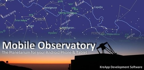 Mobile Observatory - Astronomy - Applications Android sur Google Play | Android Apps | Scoop.it