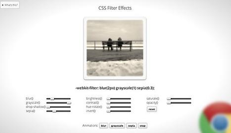 CSS Filter Effects Landing in WebKit - HTML5Rocks Updates | css posts | Scoop.it