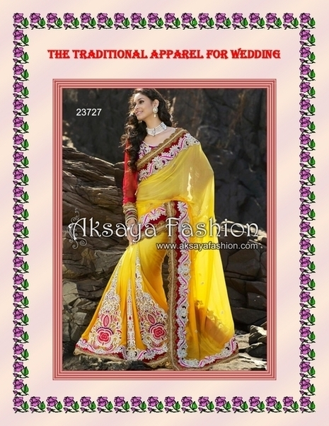 The Traditional Apparel for Wedding - PDF | Indian Wediing Dresses | Scoop.it
