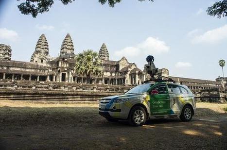 Angkor en un clic: merci Google! | Clic France | Scoop.it