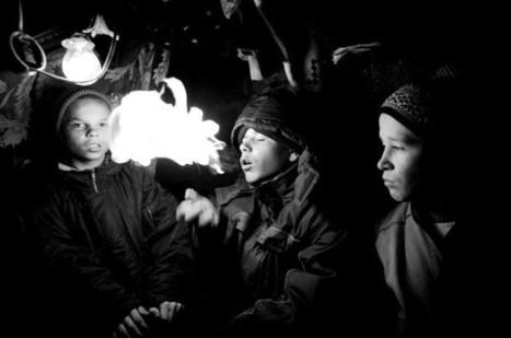 Reportage photographique d'enfants des rues en Urkraine | J'écris mon premier roman | Scoop.it