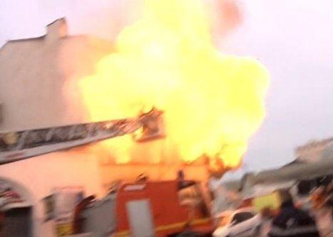 Marseille | Un marin pompier échappe de peu à une explosion - AllôLesPompiers | Les Sapeurs-Pompiers ! | Scoop.it