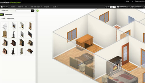 Autodesk Homestyler, para planear y diseñar tu próxima casa   tecno4   Scoop.it