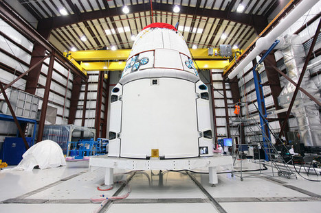SpaceX Primes Dragon Capsule for Space Station Mission (Photos) | The NewSpace Daily | Scoop.it