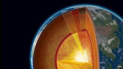 Earth's core far hotter than thought - 6,000 ˚C, as hot as sun surface | Rocks | Scoop.it