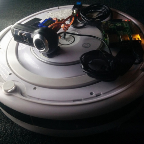 Roomba Now Able to Hunt Arnold Schwarzenegger | Raspberry Pi | Scoop.it