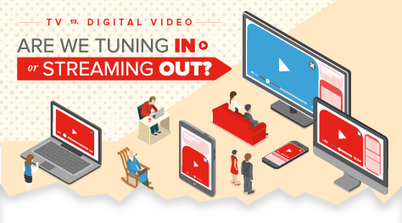 TV vs. Digital Video: Are We Tuning In or Streaming Out? [Infographic] | Infographic Marketing | Scoop.it