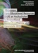 Whitepaper OER an Hochschulen und in der Weiterbildung veröffentlicht | Zentrum für multimediales Lehren und Lernen (LLZ) | Scoop.it