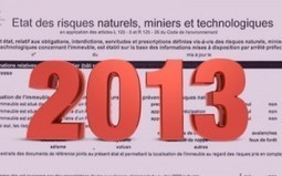 Formulaire ERNT 2013 : analyse du nouvel imprimé d'état des risques   ERNMT : l'état des risques naturels, miniers et technologiques   Scoop.it