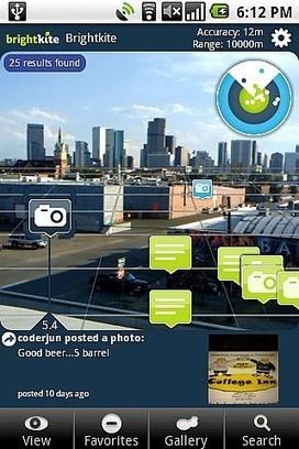 Lg perfecciona la realidad aumentada para la navegacion GPS | Telefonos.net | Escuela y Web 2.0. | Scoop.it