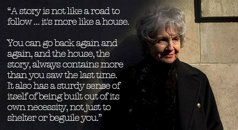 2013 Nobel Prize in Literature Laureate Alice Munro on the Secret of a Great Story | Learning, Teaching & Leading Today | Scoop.it