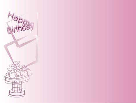 Pink image happy birthday celebration Backgrounds for PowerPoint Templates | Free PowerPoint Backgrounds | Scoop.it