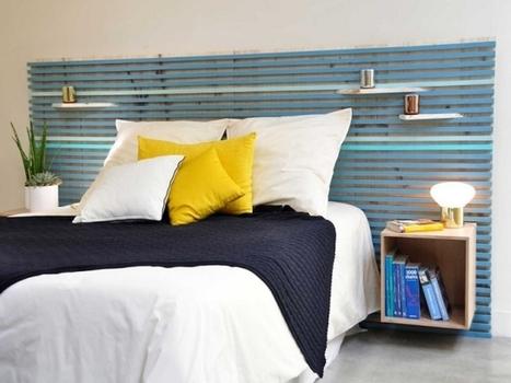 Chambre : 10 têtes de lit à faire soi-même | L'Etablisienne, un atelier pour créer, fabriquer, rénover, personnaliser... | Scoop.it