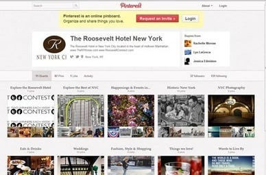 As Pinterest grows, hoteliers begin to follow | Tourism Social Media | Scoop.it