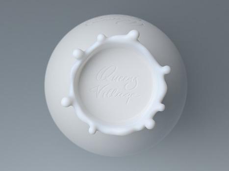 Immaculée Conception ou la bouteille de lait symbole de perfection - Communication (Agro)alimentaire | Communication Agroalimentaire | Scoop.it