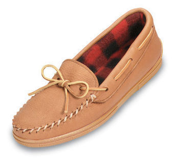 Genuine Moose With Fleece - Shop Mens, Womens, Childrens Moccasins - The Moccasin Shop | TheMoccasinShop | Scoop.it