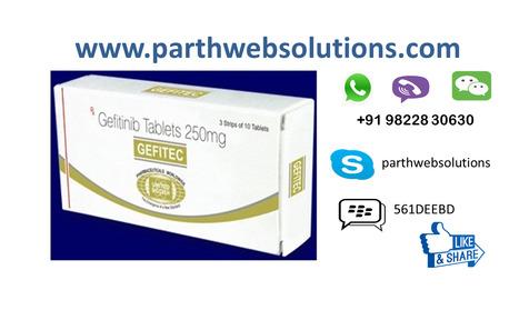 Gefitec Gefitinib Tablets (250 mg) 30 Tablets | Pharmacy Dropshipping | Scoop.it