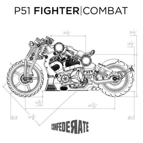 Confederate unveils crazy second-generation P51 Combat Fighter | Piques My Interest | Scoop.it