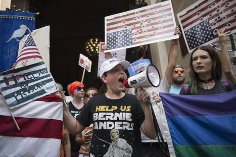 #Bernie #Sanders Says 'Elect Hillary,' Gets Heavily Booed and #Berners are right! #BernieorBust | USA the second nazi empire | Scoop.it