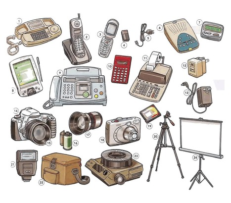 Telephones and cameras vocabulary video - Learning English with videos and pictures   Learning Basic English, to Advanced Over 700 On-Line Lessons and Exercises Free   Scoop.it
