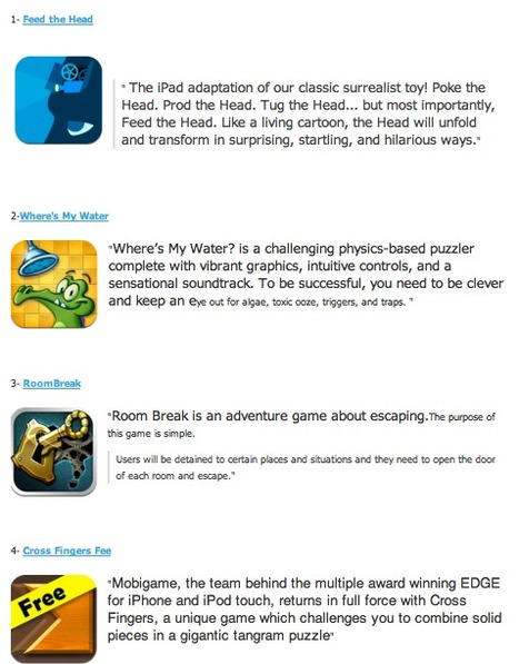 7 Excellent iPad Games to Develop Kids Critical Thinking ~ Educational Technology and Mobile Learning | iPad Recommended Educational App Lists | Scoop.it
