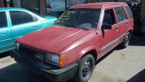 How Much Would You Pay For Jesse Pinkman's 'Breaking Bad' Toyota Tercel? | Breaking Bad | Scoop.it