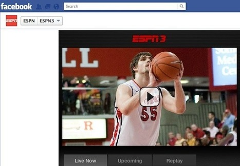 ESPN Brings More Than 200 College Basketball Games to Facebook | Social TV is everywhere | Scoop.it