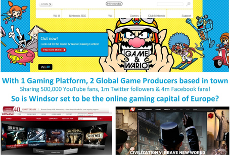 Gamification / Windsor in Berkshire UK  set to be online gaming capital of Europe?   Fresh Marketing News   Scoop.it