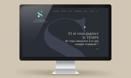 """Agence de Communication BLUE1310 Annecy Paris   My Sandra   Blue1310 """"little big agency"""" création de marque,branding, identité visuelle, communication globale   Scoop.it"""