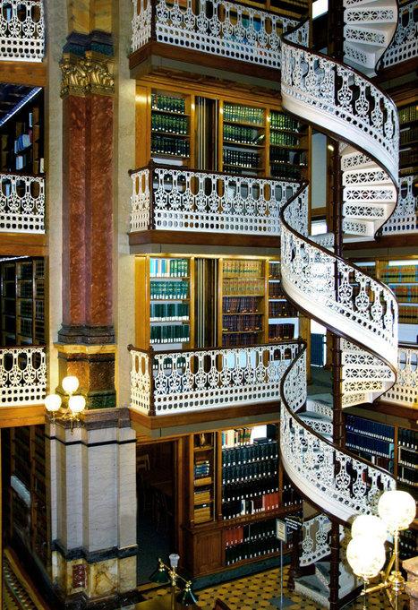 15 bibliothèques absolument magnifiques qui vous donneront envie de lire tous leurs ouvrages | Future cities | Scoop.it