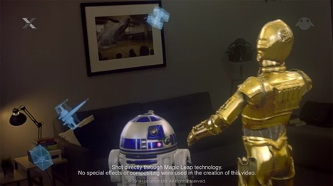 Magic Leap Teams Up With Lucas Films to Bring Us Star Wars Mixed Reality - SERIOUS WONDER | AR - QR | Scoop.it