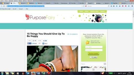 15 ZVYKŮ, KTERÉ VÁM BRÁNÍ BÝT ŠŤASTNÍ | HAPPINESS | Scoop.it