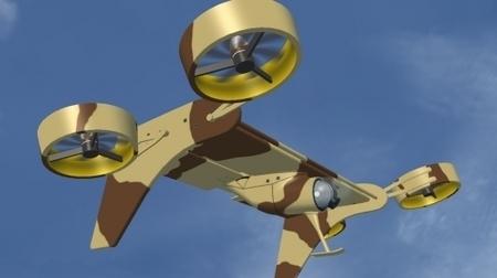 VTOL Flying-Wing: a new take on UAV design | Robots and Robotics | Scoop.it