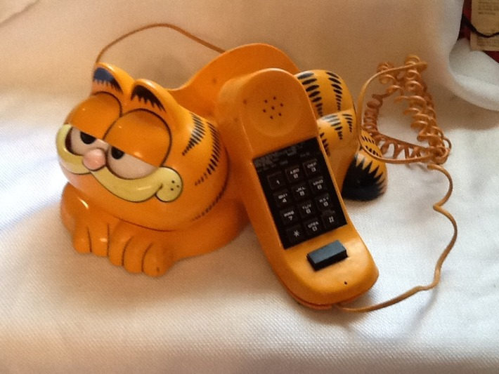 Vintage 1986 Garfield Telephone | Kitsch | Scoop.it