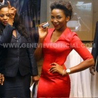 Genevieve Nnaji unveiled as Range Rover ambassador | NaijaBamBam Intro | Scoop.it