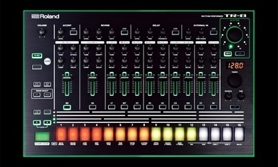 Roland launch new versions of the iconic 808, 909 and 303 instruments | Roland Aira TR-8 Collection | Scoop.it