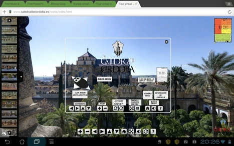Visita virtual a la catedral de Córdoba - Mezquita de Córdoba | paprofes | Scoop.it