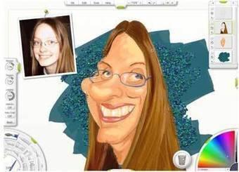 Caricaturizar fotos, Como hacer fotos caricatura gratis, General | Valentina Nancy | Scoop.it