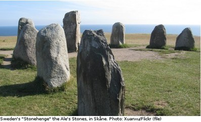 Ancient tomb found at 'Sweden's Stonehenge' | Archaeology News | Scoop.it