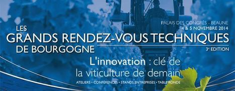 4-5 novembre : Les Grands Rendez-Vous Techniques de Bourgogne | Le vin quotidien | Scoop.it