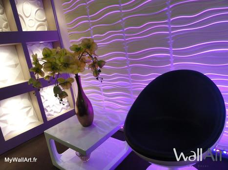 Revêtement mural Wallart - Panneaux muraux écologiques et design ! | Revêtement Mural innovant : Wallart | Scoop.it
