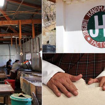 A Visit to Jungshi Handmade Paper Factory in Bhutan - Core77.com (blog) | Bhutan | Scoop.it