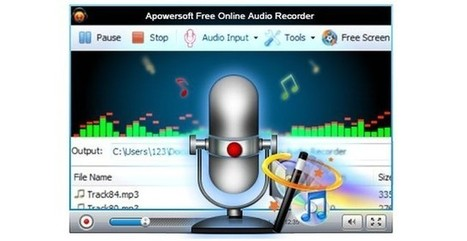 Apowersoft, utilidad web o de Escritorio para grabar audio y compartirlo | TIC-TAC-EDU | Scoop.it